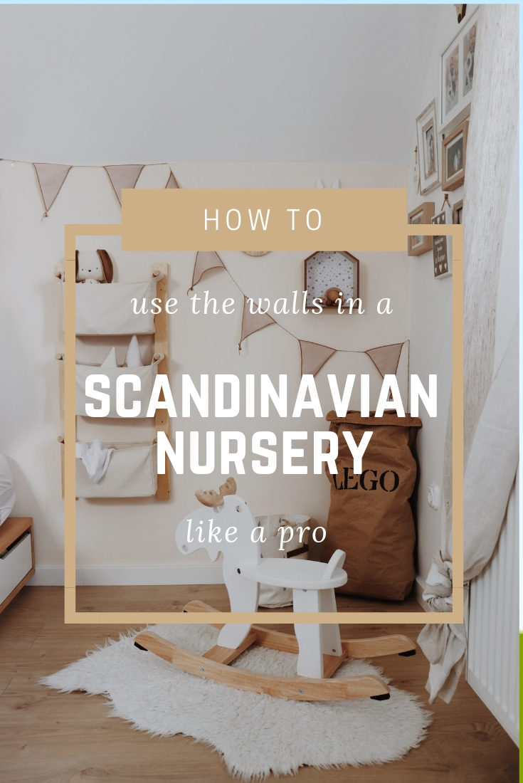 How to use the walls in a Scandinavian nursery like a pro