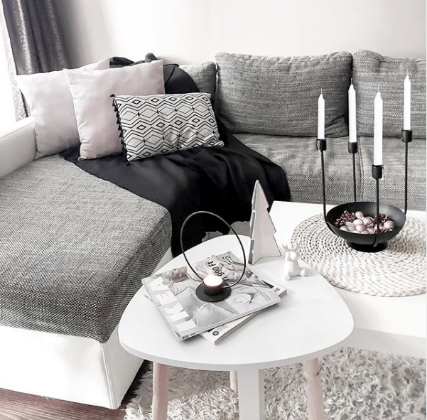mywhite notes instagram page scandi style living room